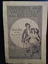 VAUDEVILLE THEATRE BILL -1915