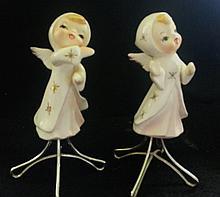 VINTAGE PORCELAIN ANGEL FIGURINES