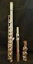 SILVER WURLITZER COMMITTEE FLUTE WITH CASE