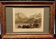 ART: STONE -PRINT LITHOGRAPH 1850