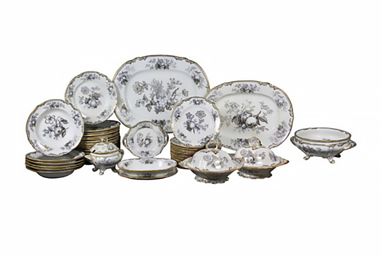 Victorian Pottery Part Dinner Service