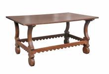 Spanish Chestnut Center Table
