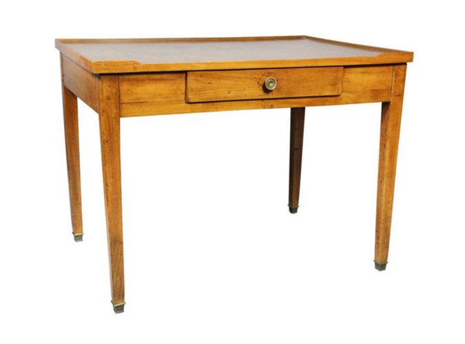 Louis XVI Provincial Cherrywood Writing Table
