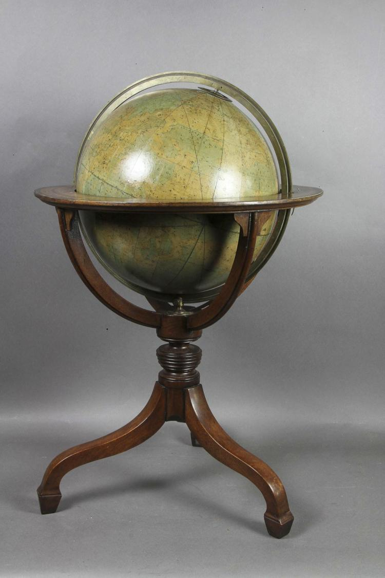Late Regency Celestial Globe by James Wyld, London