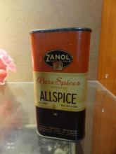 Vintage Spice Can