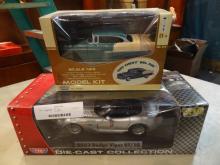 2 Die- Cast Cars