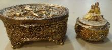 Brass jewelry Box & Brass Music Box