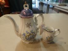 Creamer and Teapot Made in Japan
