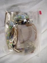 Bag of Misc Costume Jewelry