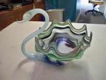 Murano Swan Bowl