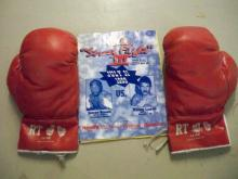 Boxing Gloves w/1999 Program