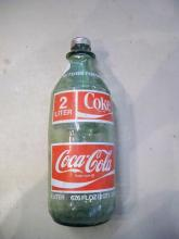 Vintage Glass coke Bottle