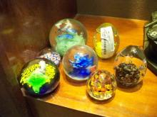 7 Pc. Art Glass Paper Weights
