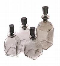 Set of Vintage Decanters