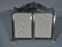 Tiffany Gilded Age Sterling Silver Parental Unit Picture Frame