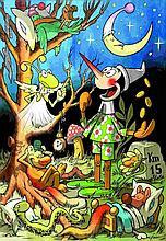 Benito Jacovitti  - Pinocchio - Il Campo dei Miracoli