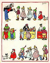 Attilio Mussino  - Illustrazione per la Domenica dei Fanciulli