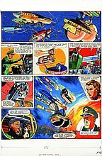 FRANK HAMPSON Dan Dare Pilota del Futuro - The Red Moon mystery