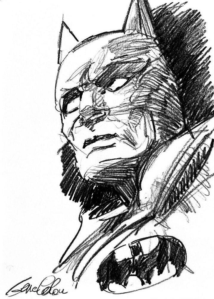 GENE COLAN Batman ritratto
