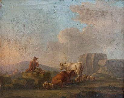 Jean-Michel DIEBOLT (Paris 1779-vers 1825) Paysage