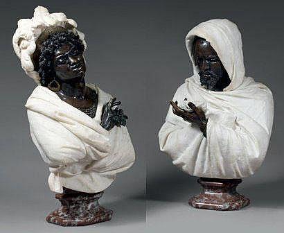 Pietro CALVI (1833-1884) « Othello et Selika »