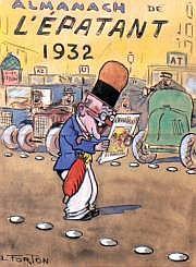 FORTON Louis (1879 - 1934) « Almanach L'Epatant
