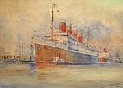 Albert SEBILLE (1874-1953) (Peintre de la Marine)