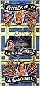 La Basquaise Aff. N.E. B.E. B + Plis. / Folds. 85