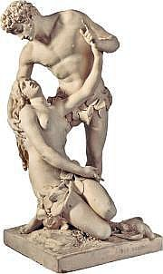 Louis-Simon BOIZOT (1743 - 1809) « Adam et Ève »