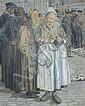 Gaston HOCHARD (1863-1913) Hotteuse bretonne », Gaston Hochard, Click for value