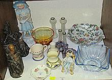 Victorian and later collectables, including a