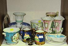 A collection of Victorian and later china,