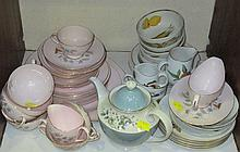 A collection of 20th century china tableware,