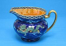 An S. Hancock & Sons Coronaware jug, decorated