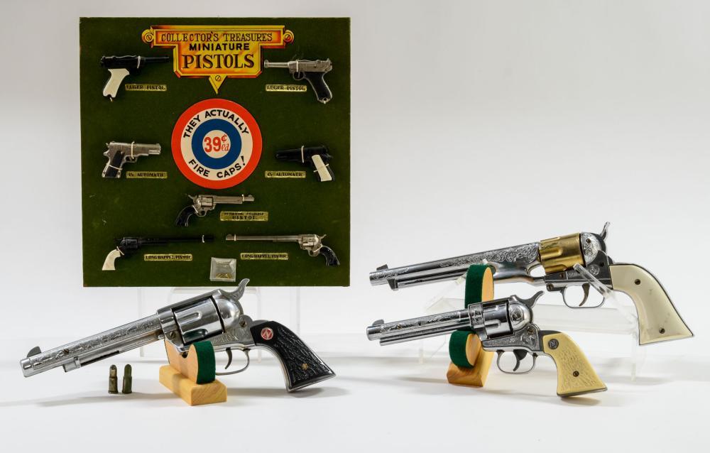 Estate Group of Vintage Cap Guns