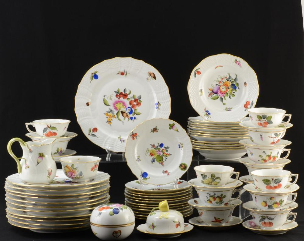 Herend Fruits & Flowers Dinner Service