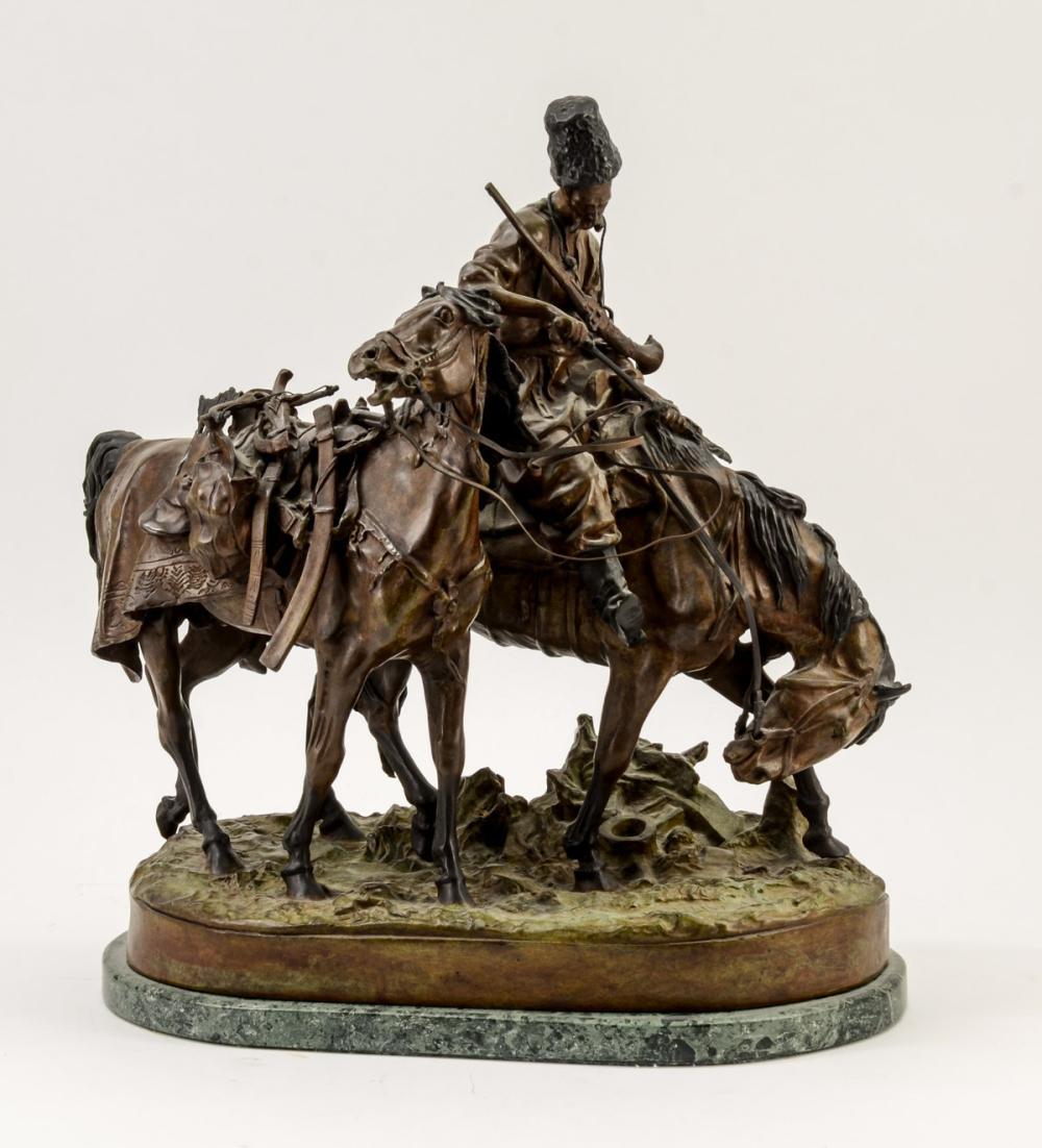 Bronze Figure After Eugene Lanceray