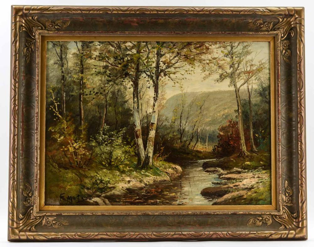 Frederick Matzow: Woodland Landscape