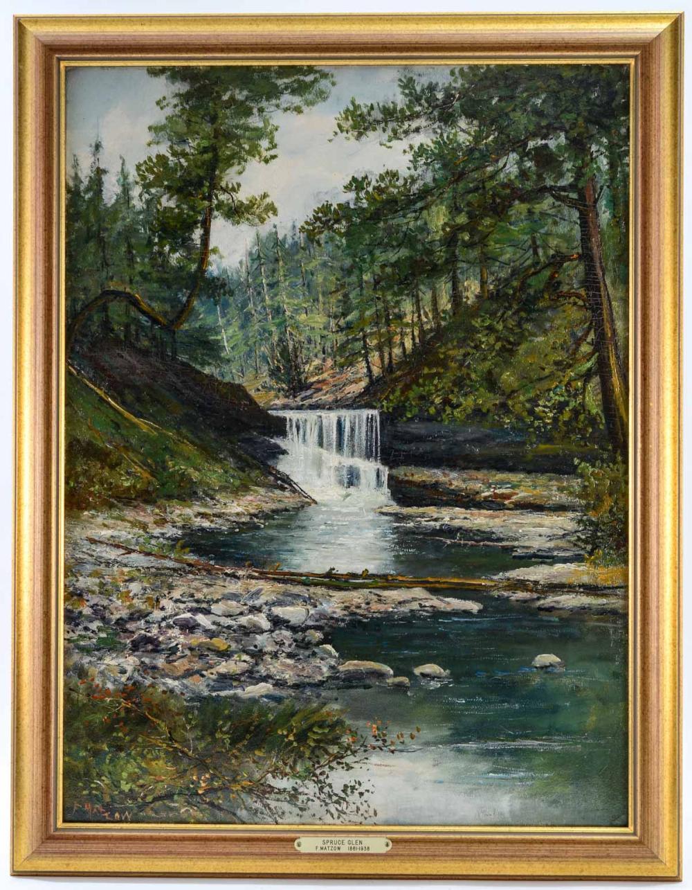 Frederick Matzow: Spruce Glen