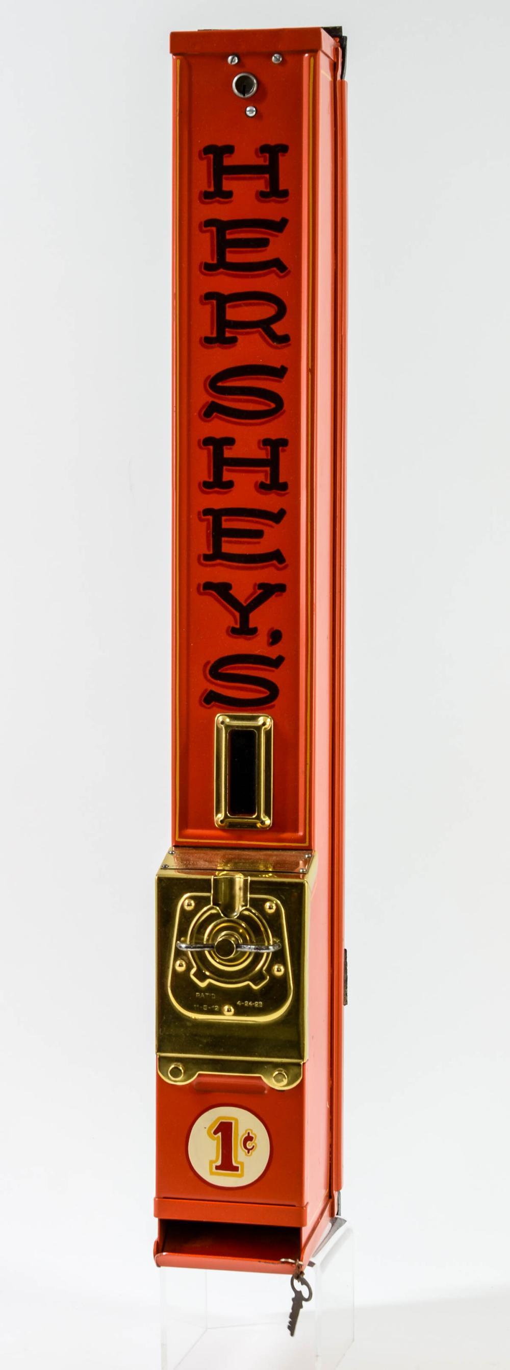 Hershey's 1 Cent Chocolate Bar Vending Machine