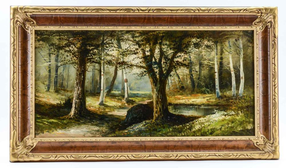 Frederick Matzow: Birches