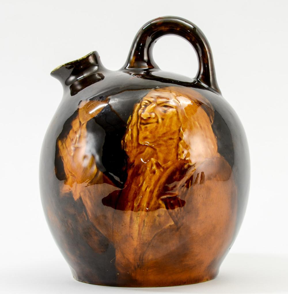 Doulton Burslem Glazed Pottery Jug