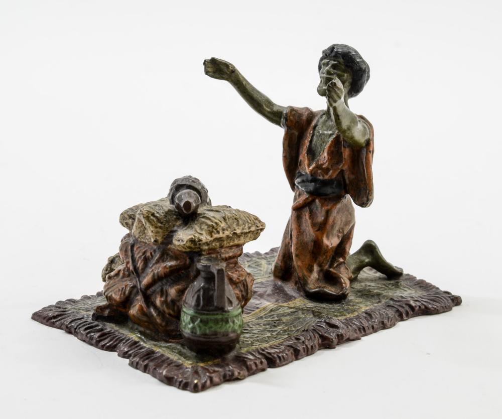 Vienna Bronze: Man Praying