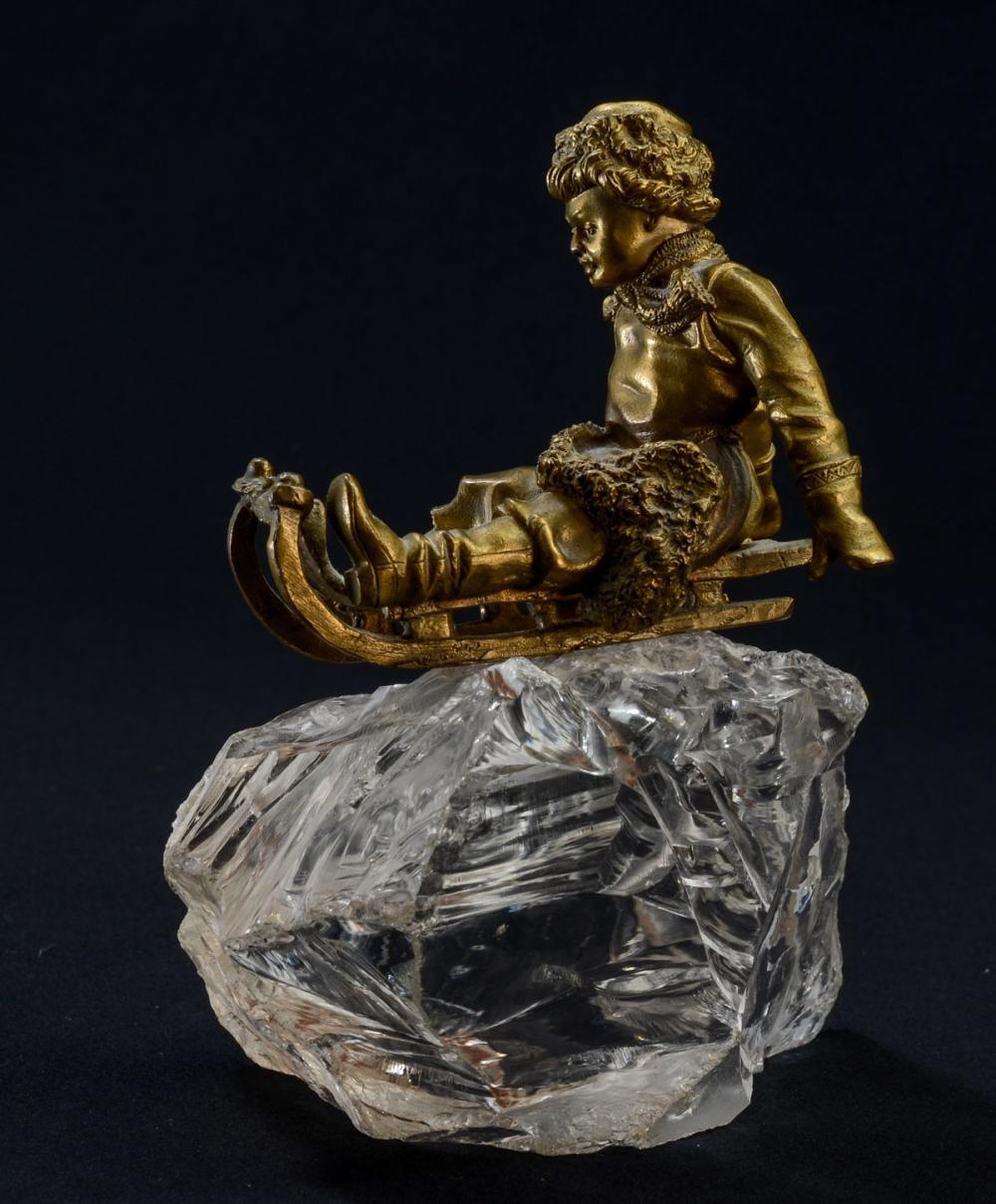 Russian Bronze & Rock Crystal Group