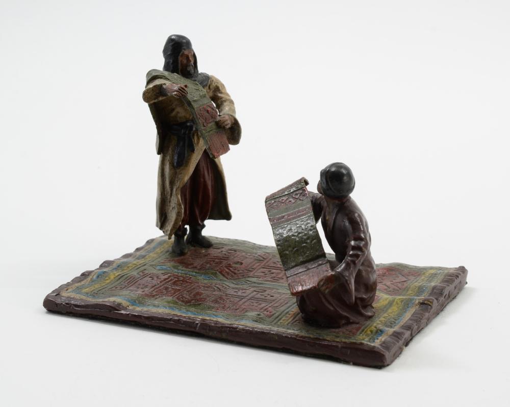 Vienna Bronze: Rug Merchants
