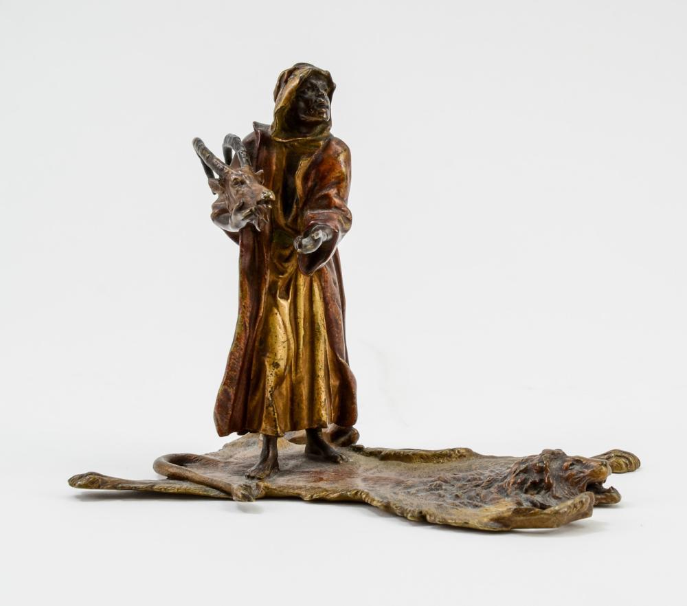 Orientalist Vienna Bronze Figure