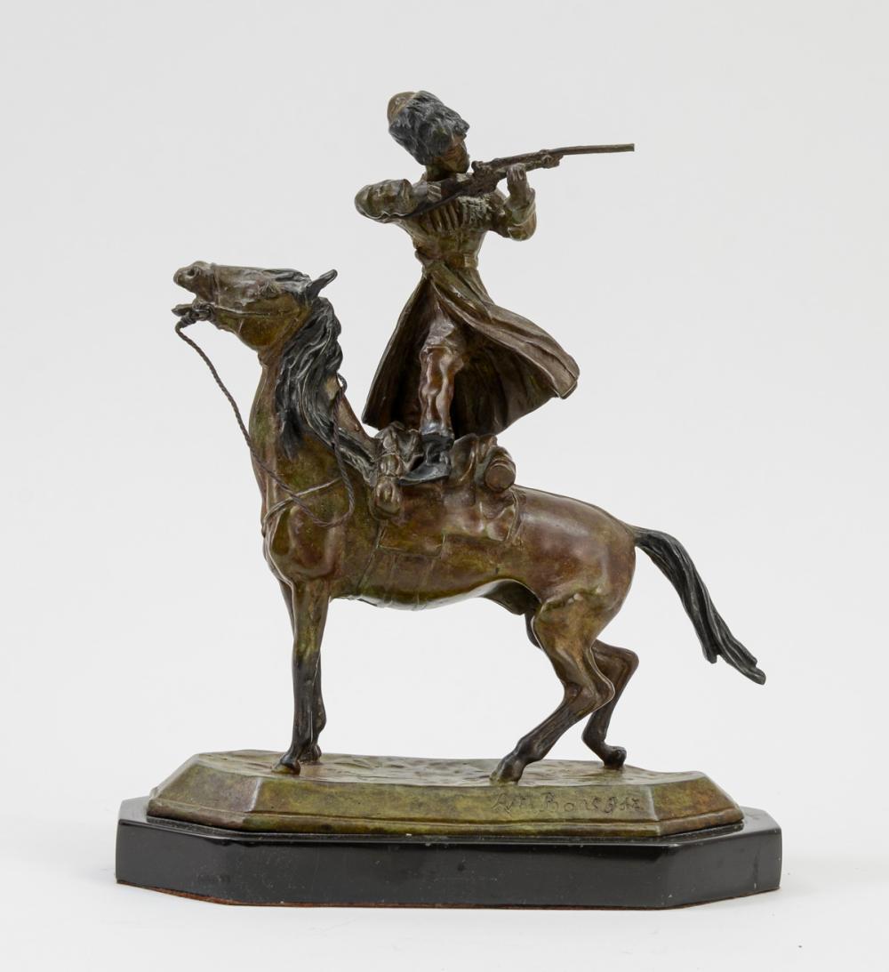 Manner of Lanceray Russian Bronze