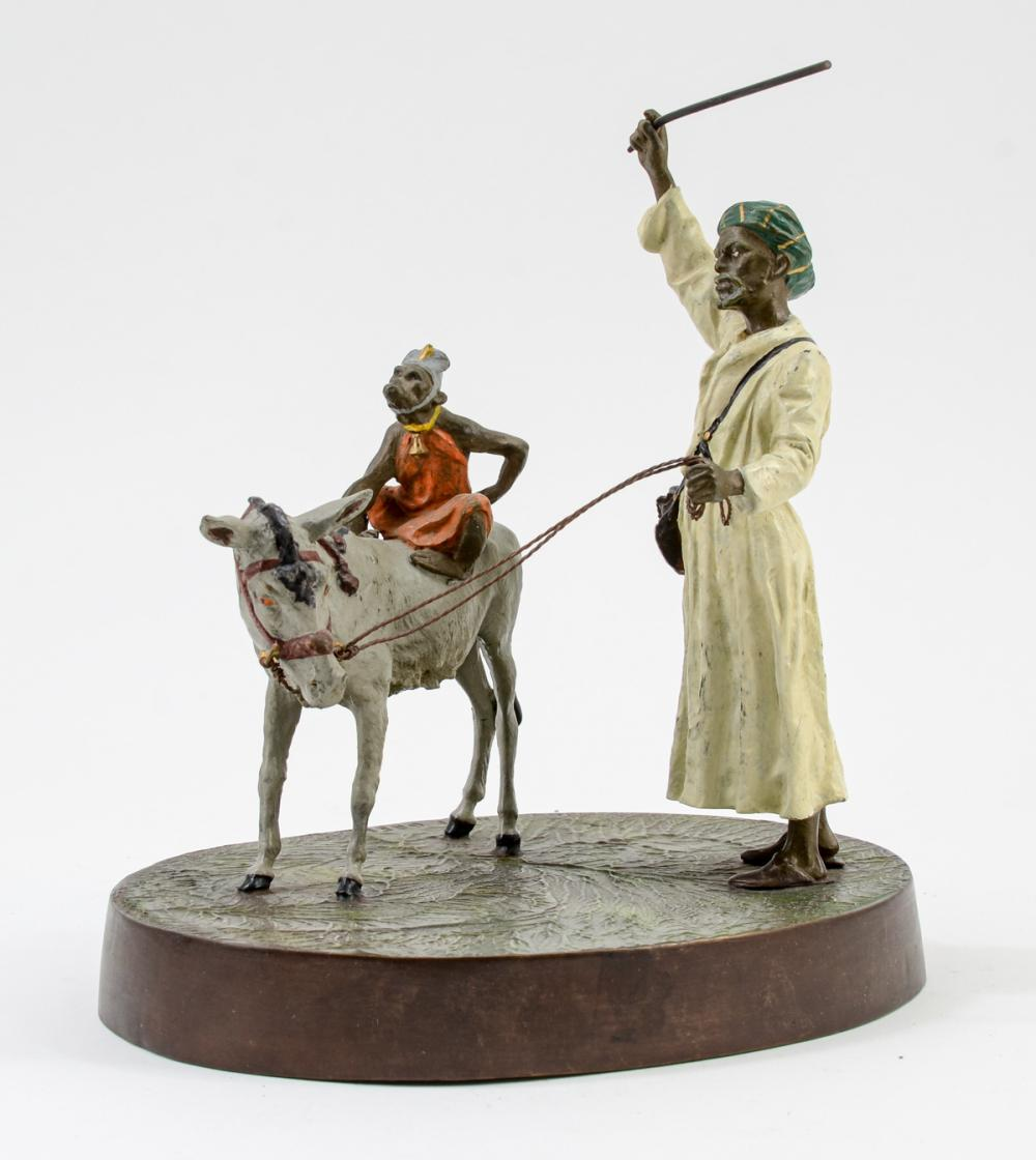 Bergman Orientalist Bronze Group