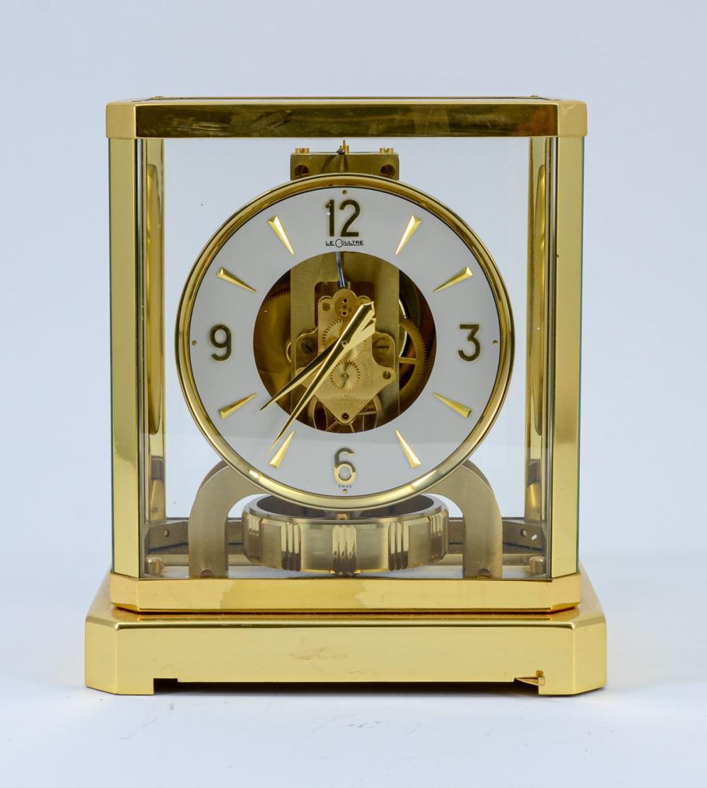 LeCoultre Atmos Swiss Mantle Clock