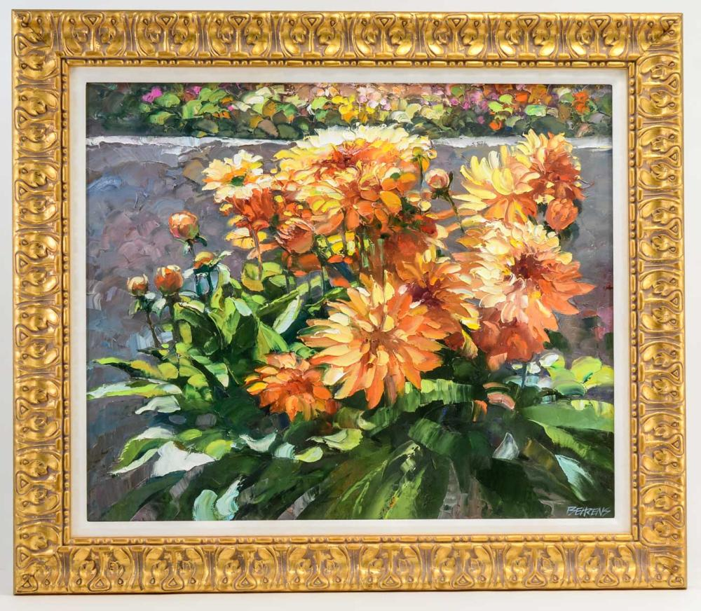 Howard Behrens Oil on Canvas